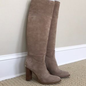 Michael Kors Suede Over the knee boots